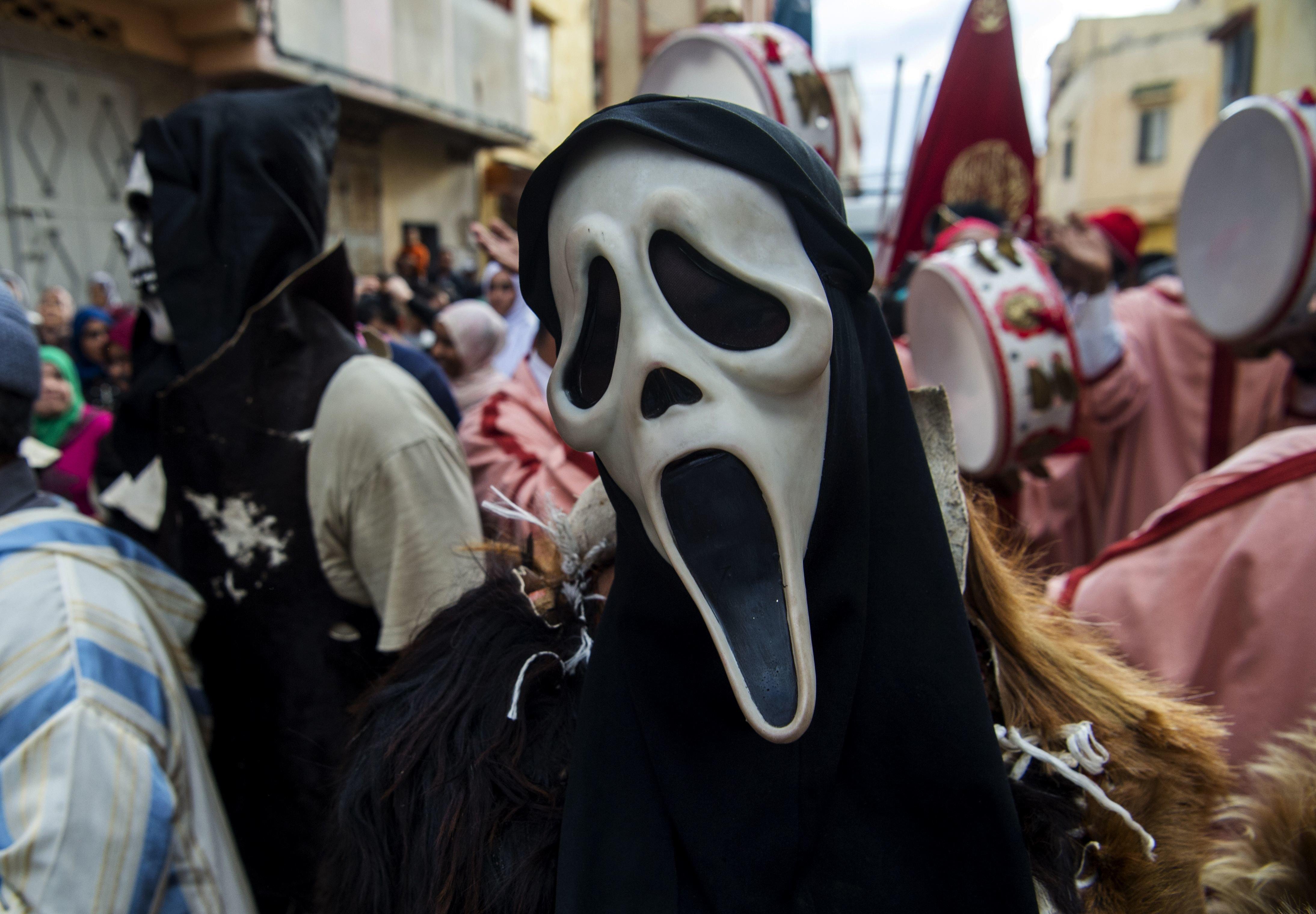 Cette année, le festival Boujloud à Salé avait des airs de Halloween