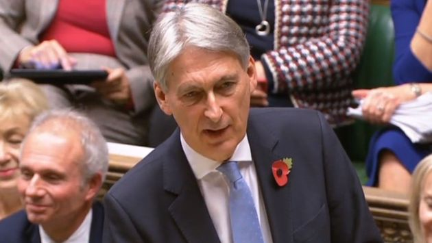 Philip Hammond has been criticised for awarding more cash to road repairs than schools in Monday's