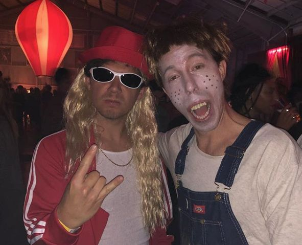 "Shaun White as Simple Jack from ""Tropic Thunder."""