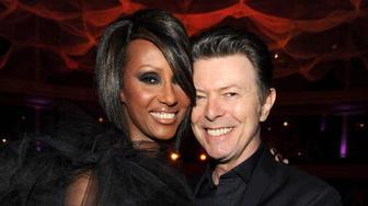Remembering David Bowie: Iman's sweet messages, stars offer their support