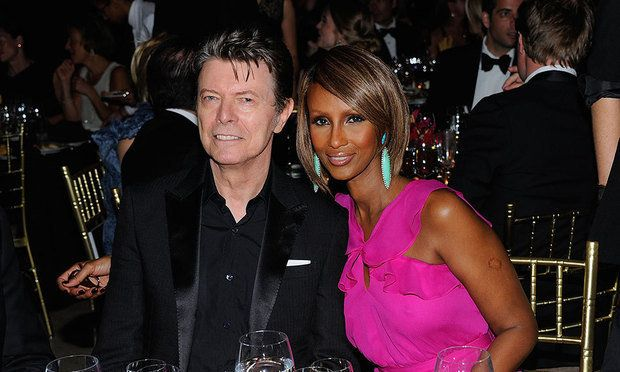 David Bowie and Iman married in June 6, 1992 after two years of dating.