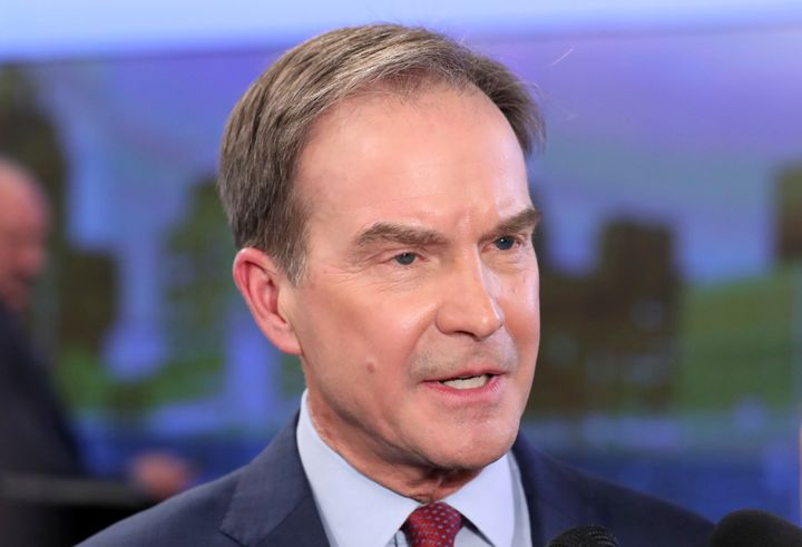 Video footage from 1989 shows current Michigan gubernatorial candidate Bill Schuette making sexually suggestive remarks