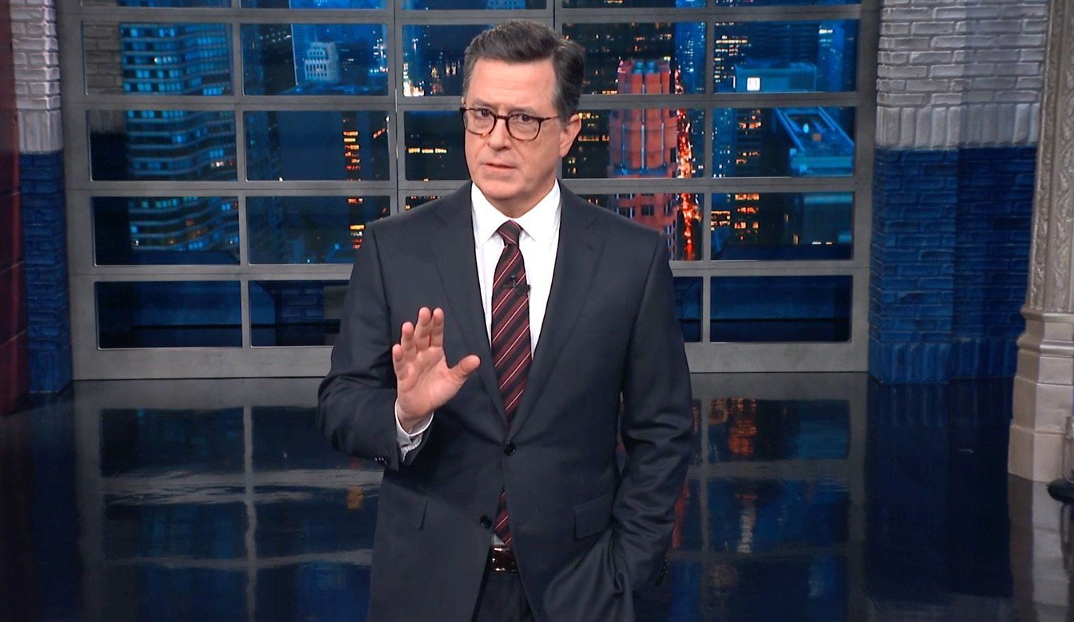 Colbert Turns Serious With Stirring Call For Unity In Wake Of Mass