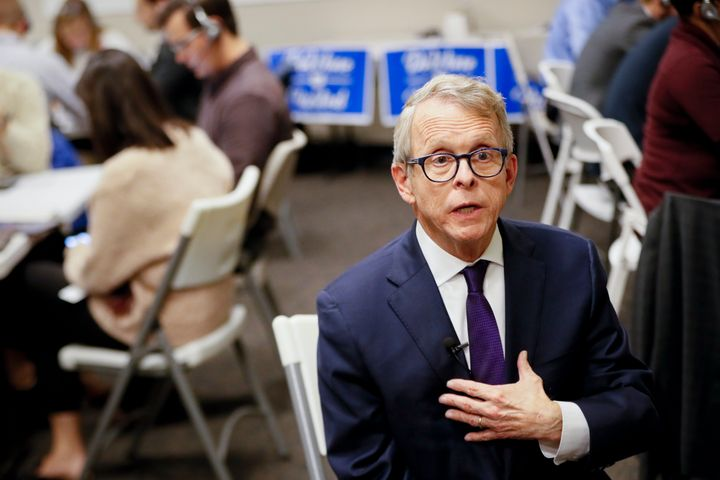Republican Mike DeWine keeps the Ohio governor's office in Republican control.