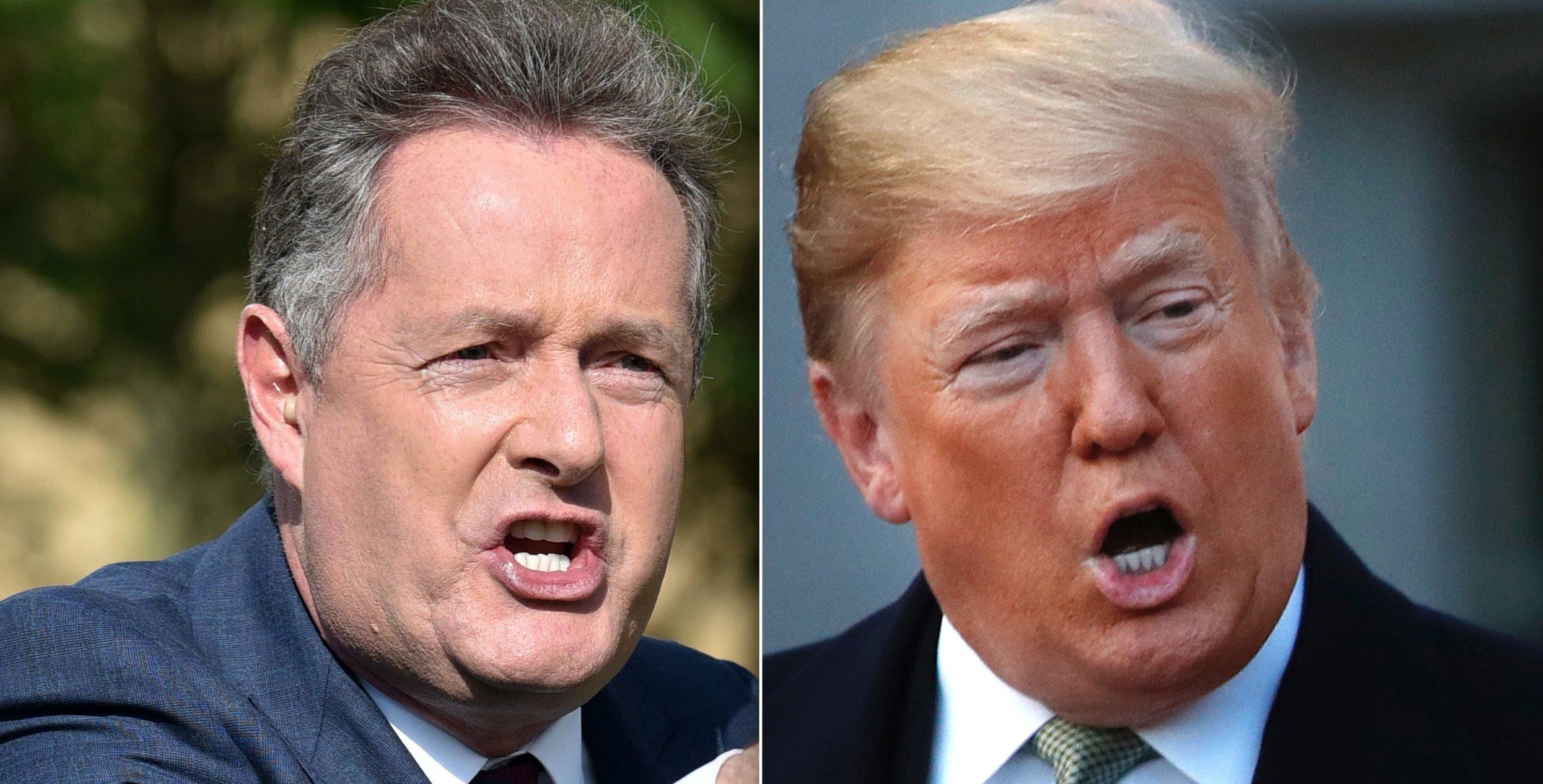 Piers Morgan, Donald Trump