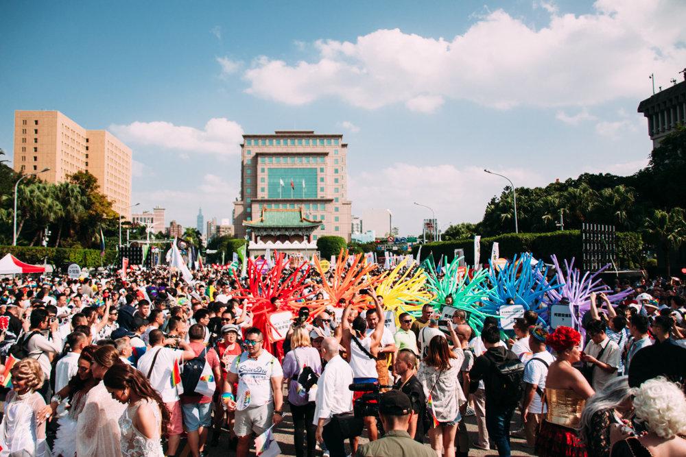 100장으로 보는 대만 LGBT 프라이드