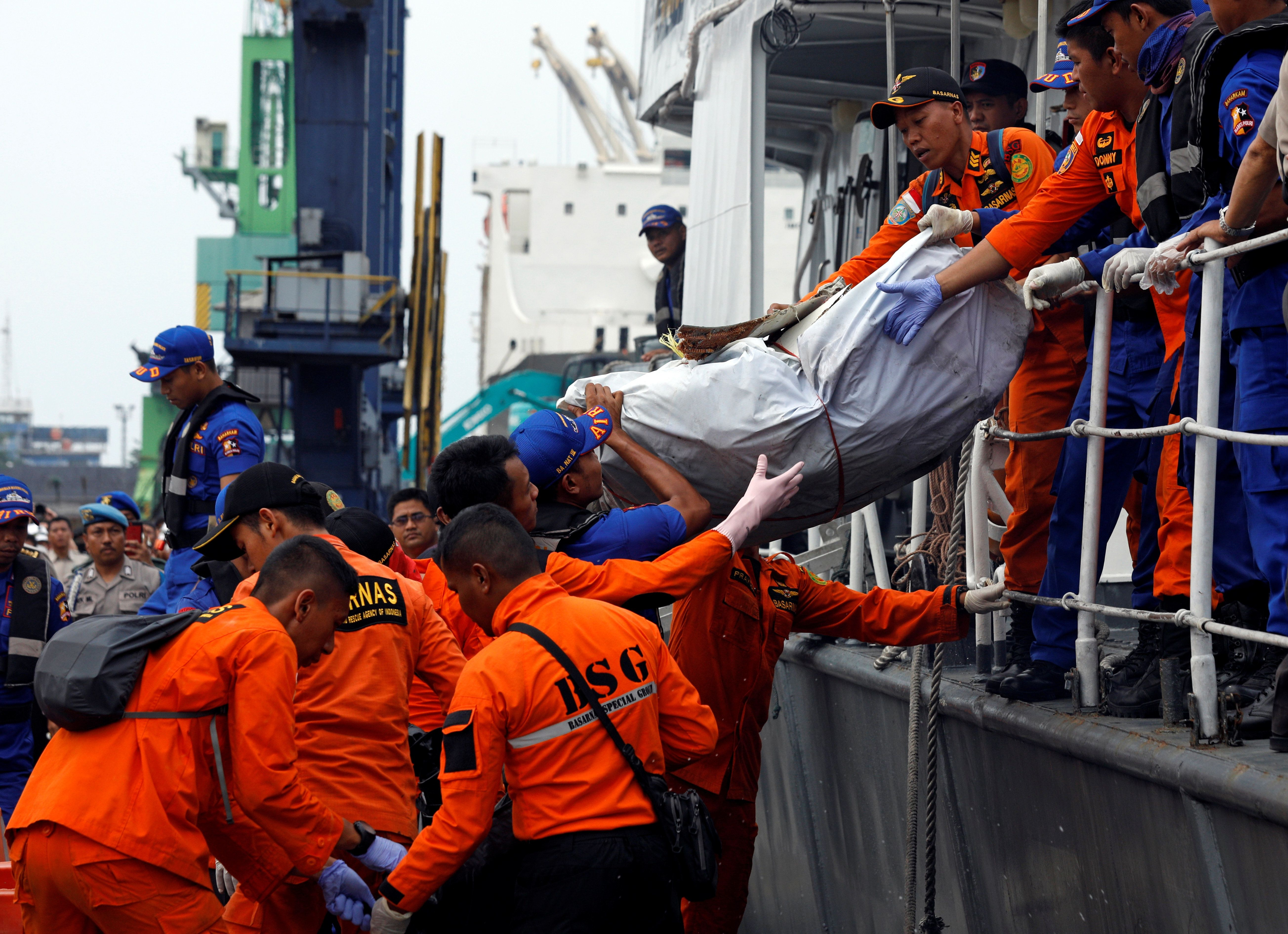 The National Search and Rescue Agency said that 10 intact bodies, as well as body parts, have been recovered.