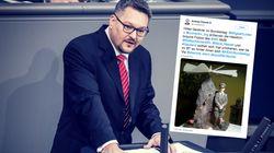 AfD-Abgeordneter teilt Nazi-Fotos bei WhatsApp – seine Ausrede ist