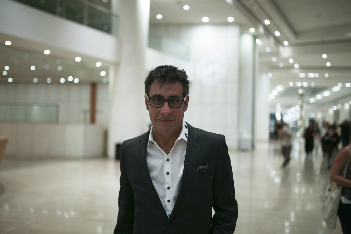 Ο Ορέστης Ανδρεαδάκης λίγο πριν την έναρξη του 59ου Φεστιβάλ Κινηματογράφου Θεσσαλονίκης