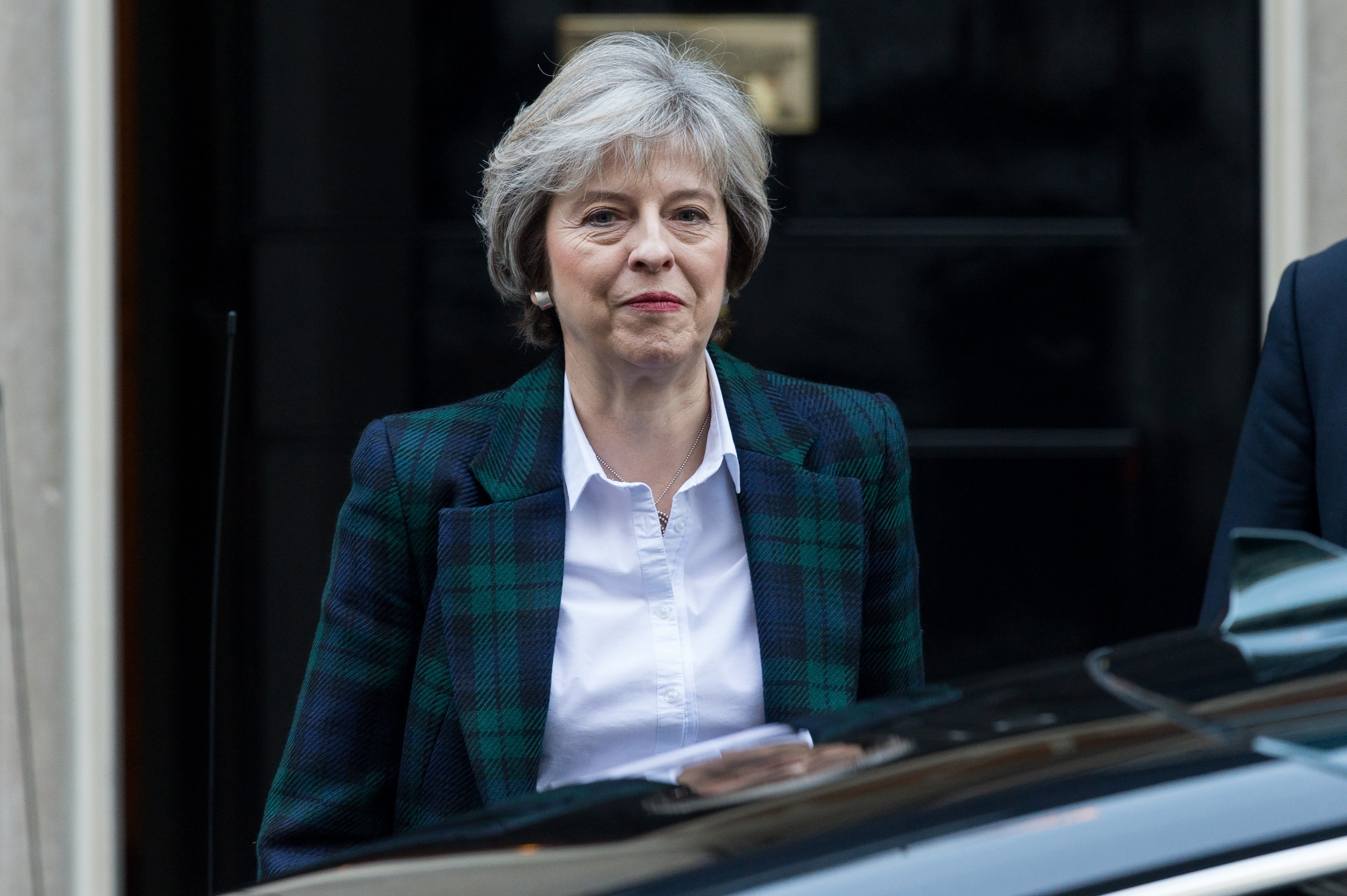 Theresa May Dismisses Claims She's Gearing Up For Early General