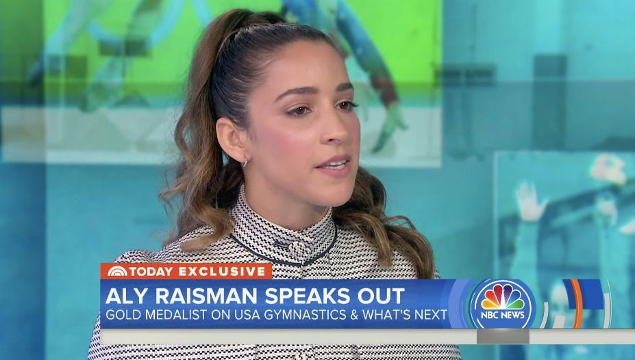 Raisman on TODAY Show