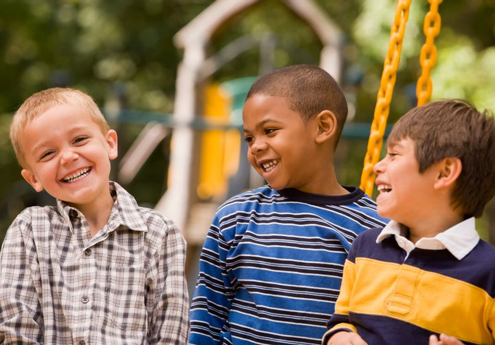 When kids acknowledge that they and their friends have different skin colors, it's actually a good thing.