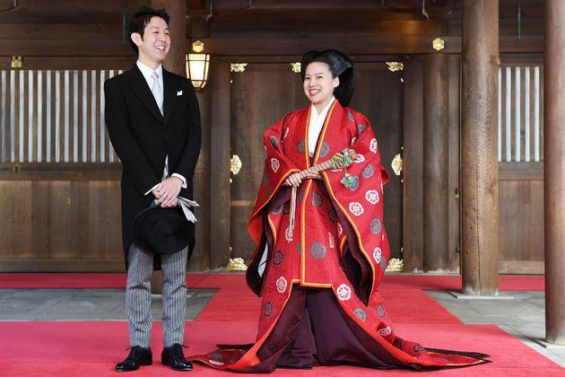 Une princesse japonaise renonce à son titre pour épouser un