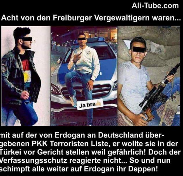 Erdogan-Fans nutzen Vergewaltigung in Freiburg für krude