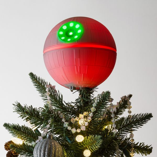"Why put on a star on your tree when you can have a <a href=""https://www.thinkgeek.com/product/jgsv/"" target=""_blank"">Death St"
