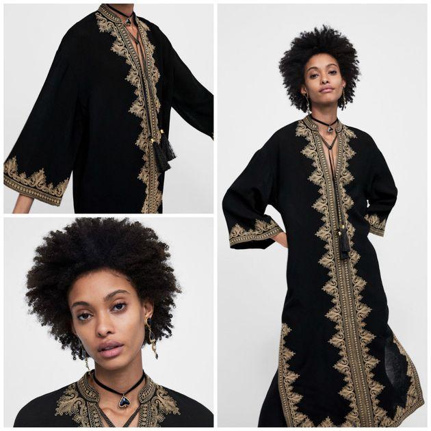 grossiste nouveaux produits pour vente la moins chère Appropriation culturelle: cette tunique Zara ressemble (un ...
