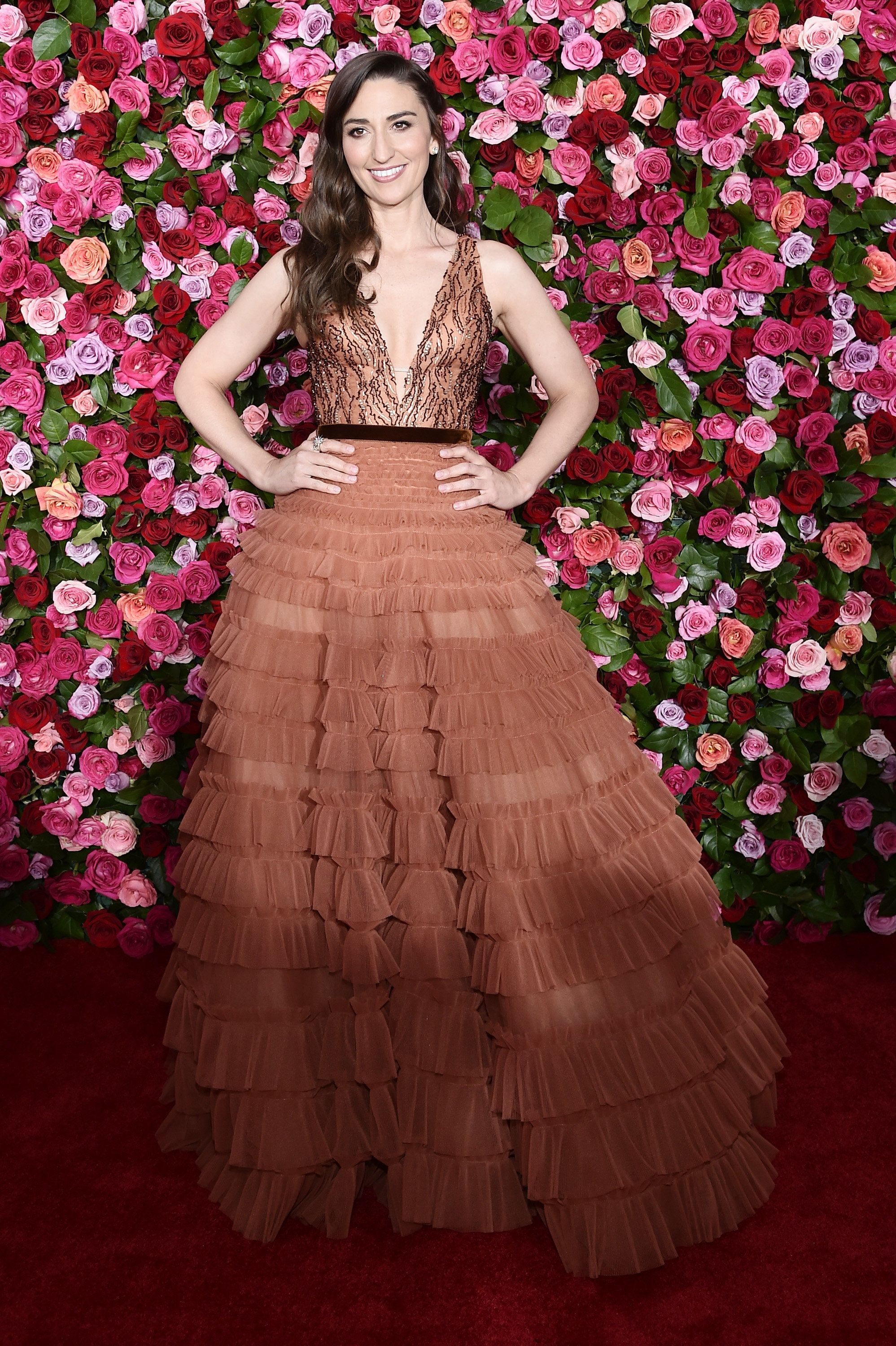 NEW YORK, NY - JUNE 10:  Sara Bareilles attends the 72nd Annual Tony Awards on June 10, 2018 in New York City.  (Photo by Steven Ferdman/Patrick McMullan via Getty Images)