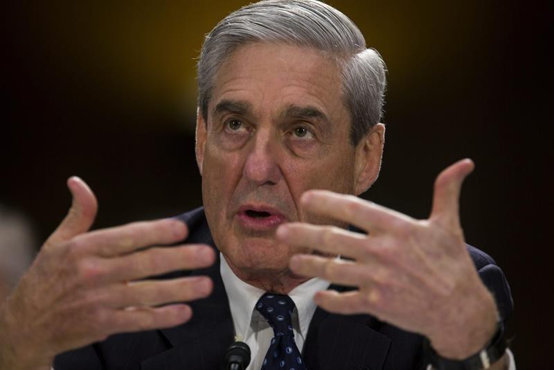 """En la imagen, el fiscal especial Robert Mueller, que investiga la llamada """"trama rusa"""". EFE/Archivo"""