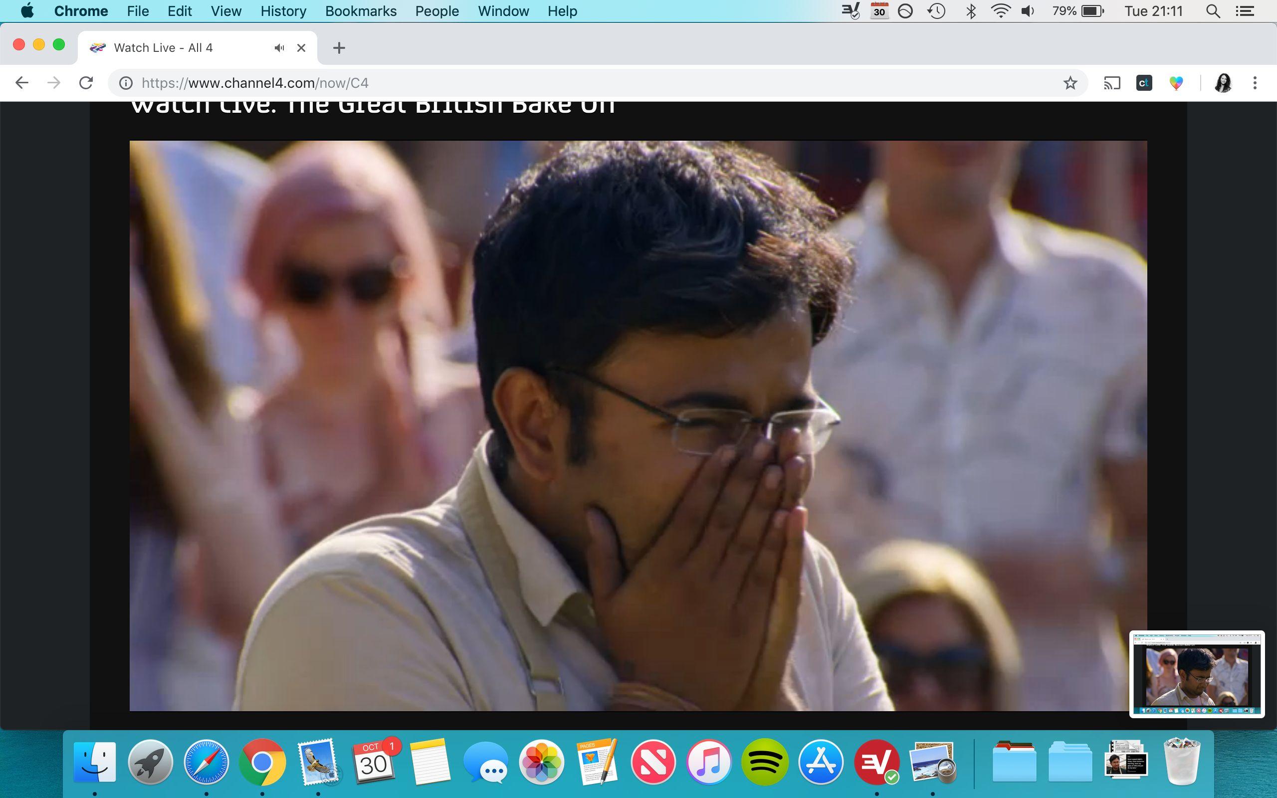 Rahul Mandal was won 'The Great British Bake Off' 2018