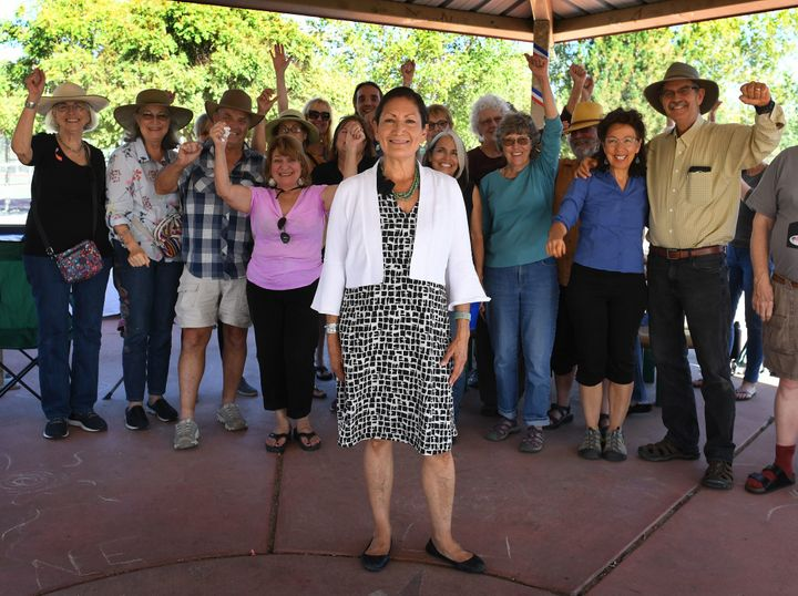 Deb Haaland, a Democratic House candidate in New Mexico, is one of 256 women running for Congress in the 2018 general electio