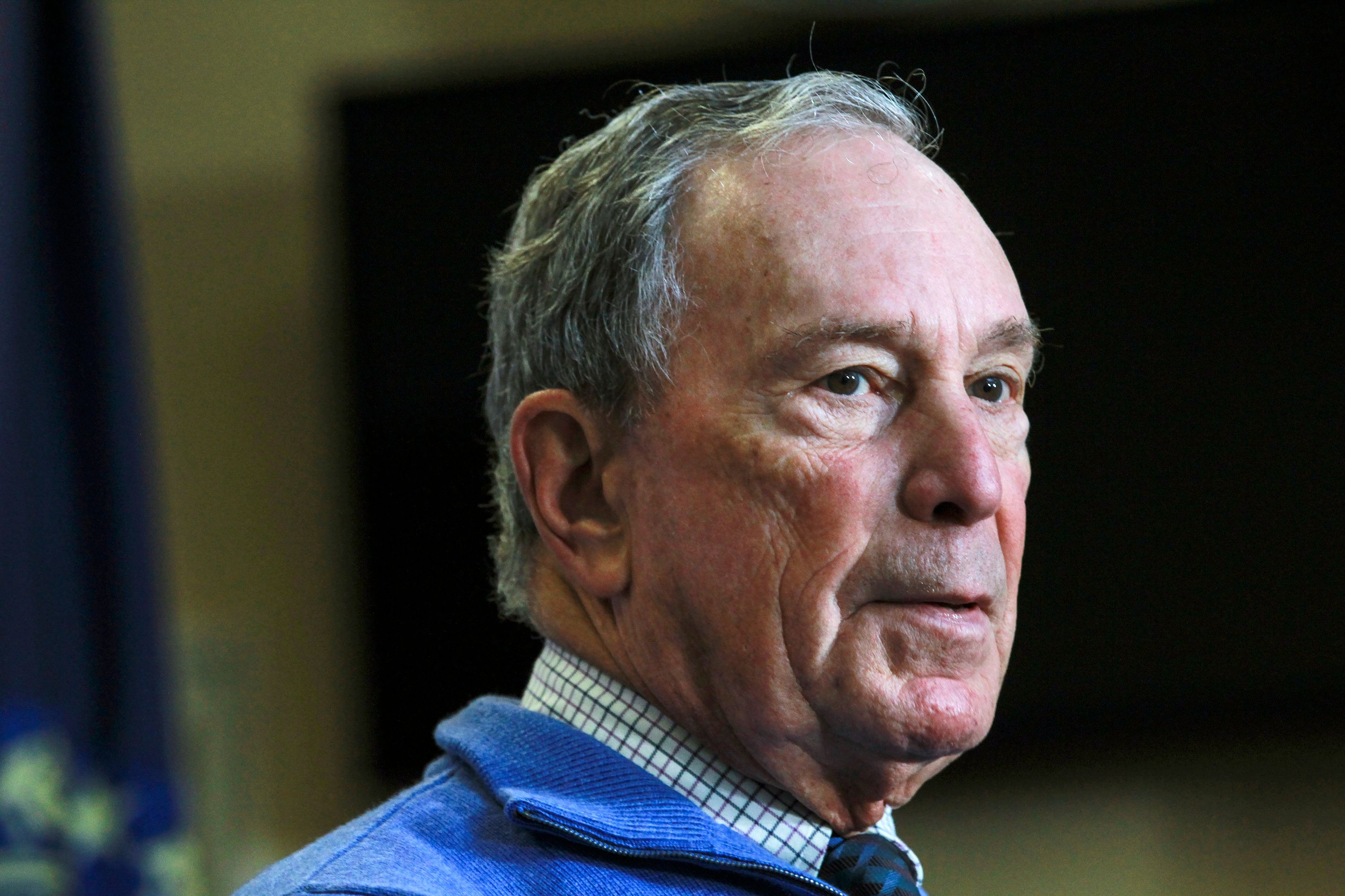 Michael Bloomberg the billionaire former mayor of New York City has pumped more than $40 million into super PACs in October