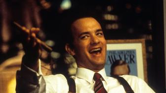 Tom Hanks in a scene from the film 'Philadelphia', 1994. (Photo by TriStar/Getty Images)
