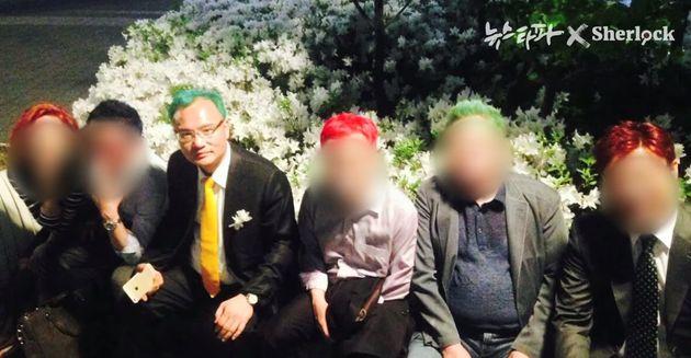 양진호 회장은 직원들에게 '일본도'로 살아있는 닭을 죽이라고 명령했다
