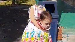 어느 필리핀 소녀의 할로윈 코스튬이 인스타그램을