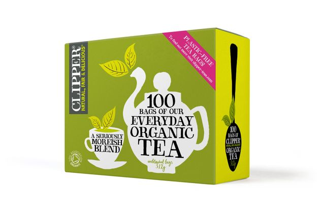 Clipper Is Launching A Plastic-Free Tea Bag Made From Bananas (Sort