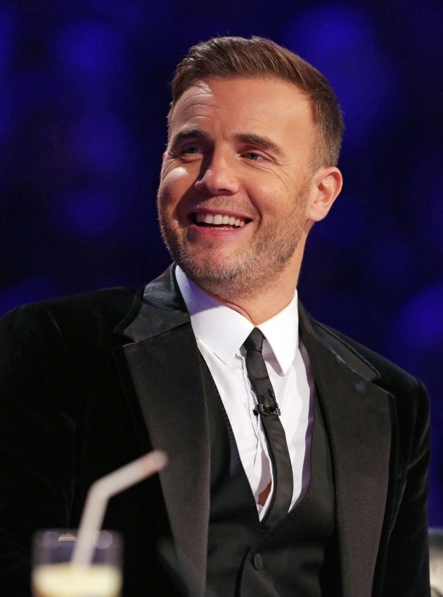 Gary during his 'X Factor'