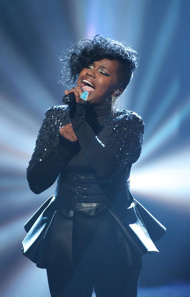 Misha B on 'The X Factor' in