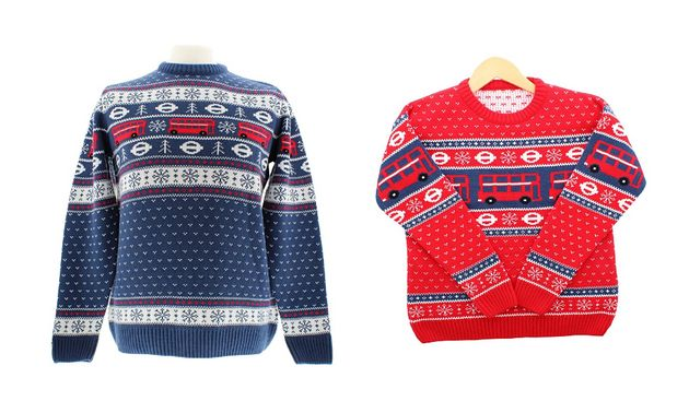 TFL Christmas Jumpers Are The Perfect Festive Attire For Transport
