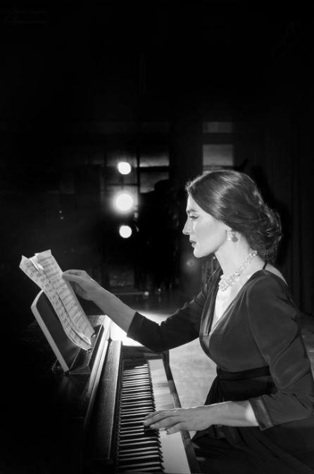 Η Μαρία Ναυπλιώτου - Κάλλας στο