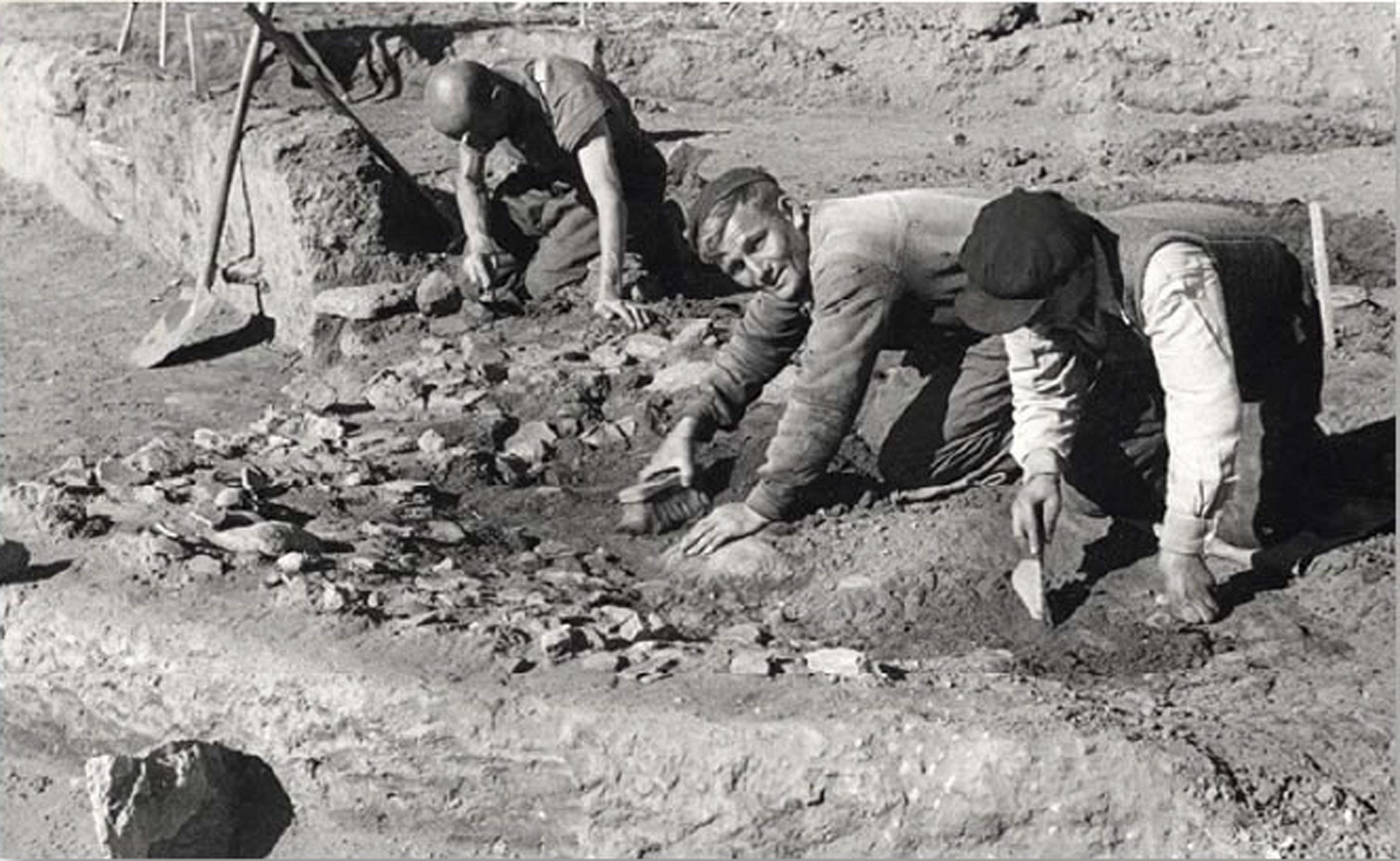 Μια άγνωστη γερμανική ανασκαφή στα χρόνια της