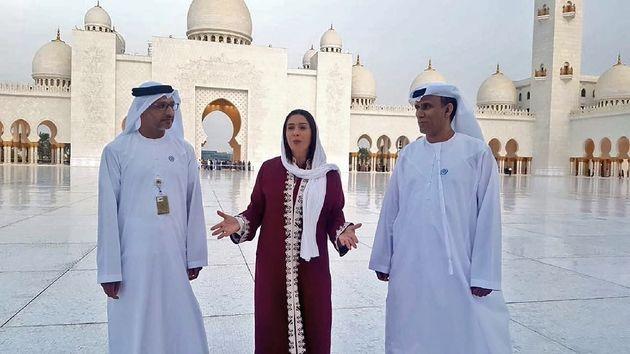 La ministre israélienne de la culture en visite officielle à la grande mosquée d'Abu