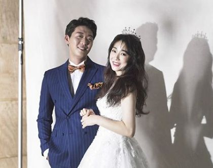 코미디언 허민과 야구선수 정인욱이 미뤘던 결혼식을