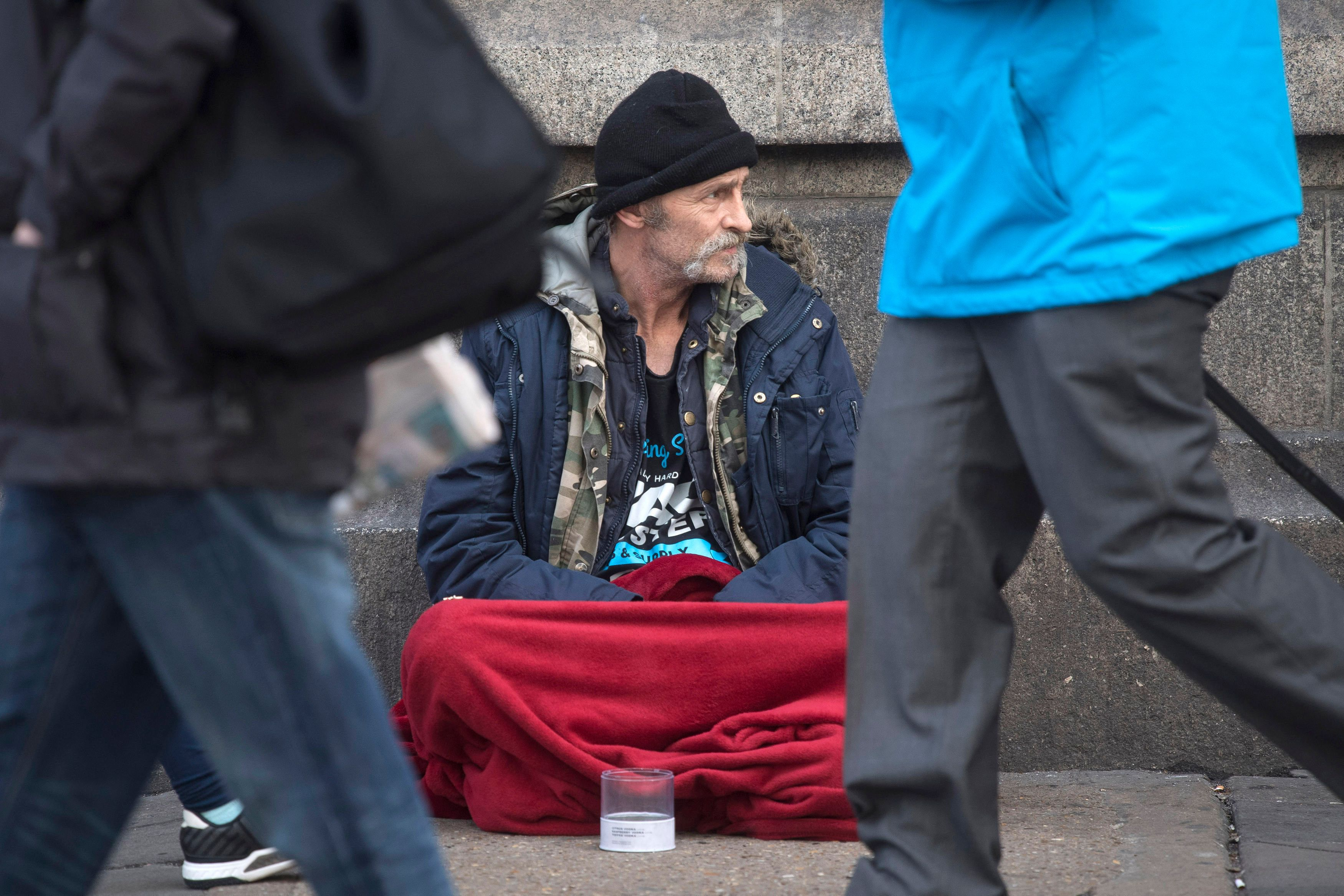 Rising visibility of homelessness has been replicated in official