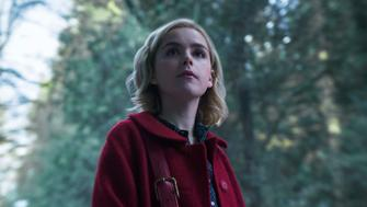 """Chilling Adventures of Sabrina"" on Netflix."
