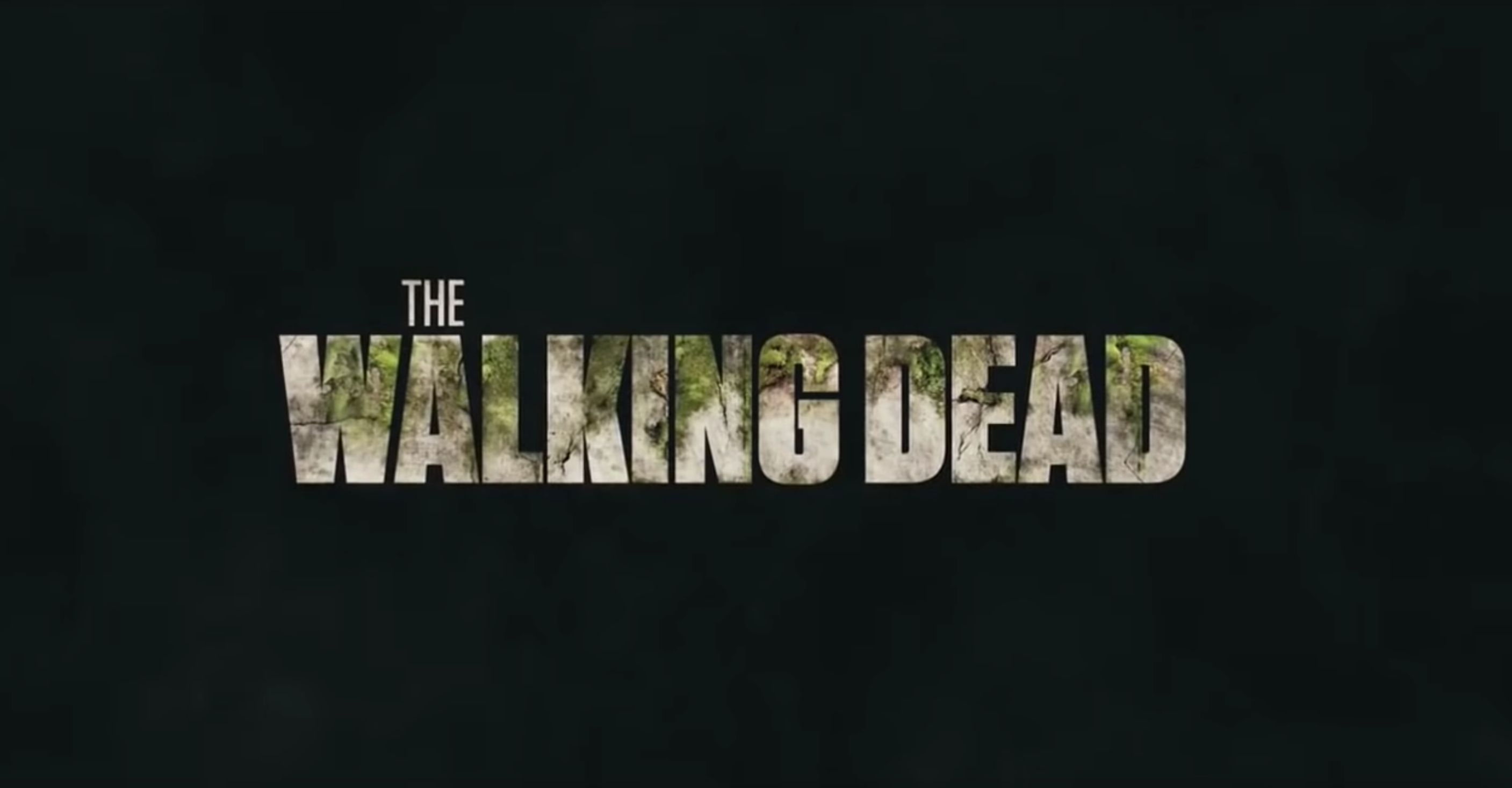 """Walking Dead"" title sequence."