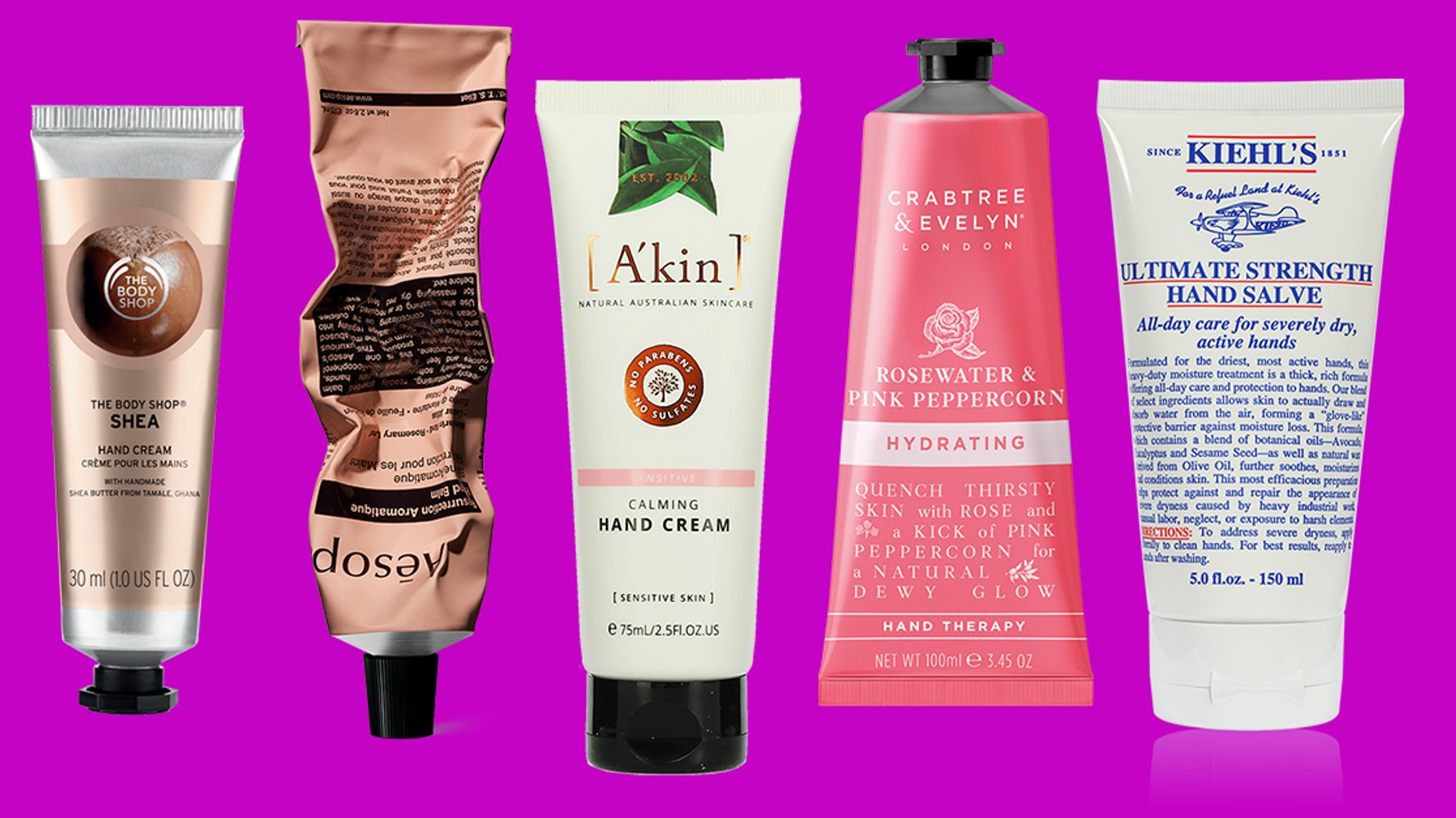 The 22 Best Hand Creams for Dry, Thirsty Skin 2019