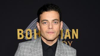 """Actor Rami Malek attends the premiere of """"Bohemian Rhapsody"""" at The Paris Theatre on Tuesday, Oct. 30, 2018, in New York. (Photo by Evan Agostini/Invision/AP)"""