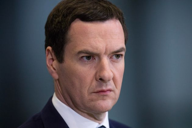 Former Chancellor George Osborne, the architect of the benefits