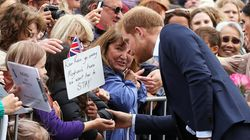 Prince Harry Said The Sweetest Thing To A Boy Who Also Lost His