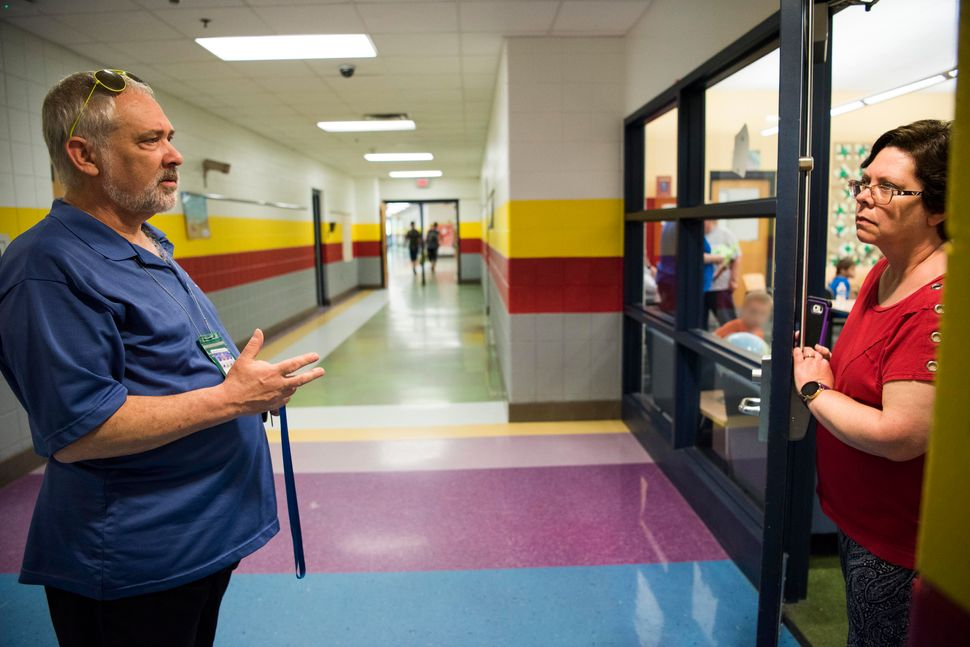 Greg Cruey and his wife, Cheryl, a former principal, often work together to help kids in need.