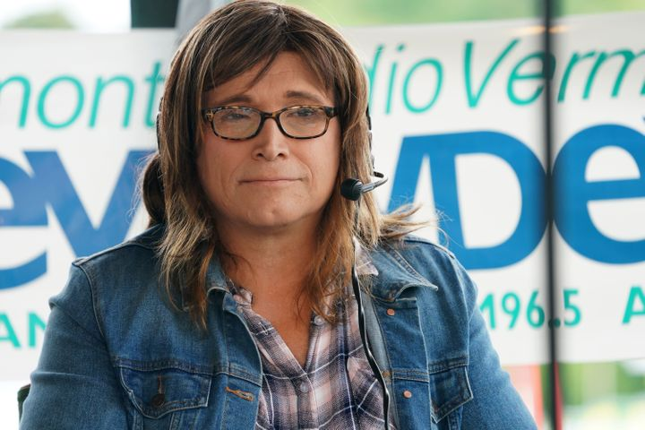 Christine Hallquist is the first openly transgender person to be nominated to a major party in a governor's race in the