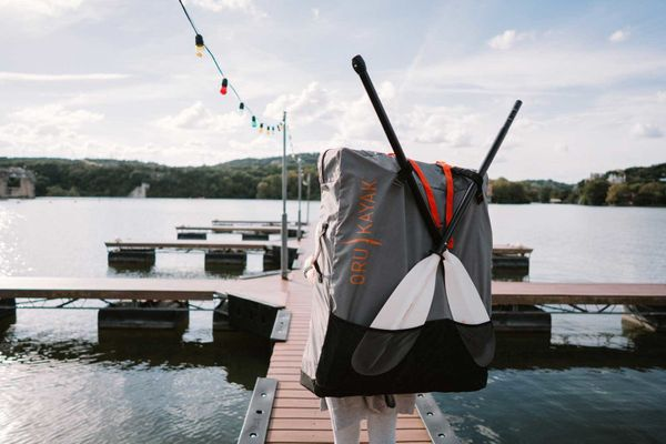 "Any kayak can look like a kayak, but it takes a special one to look like a backpack. The <a href=""https://www.orukayak.com/"""