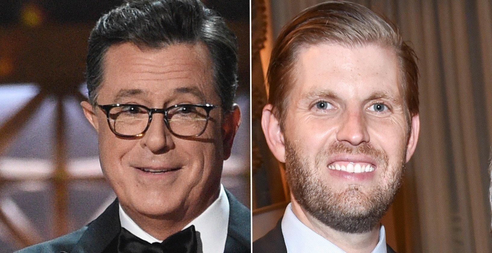 Stephen Colbert, Eric Trump