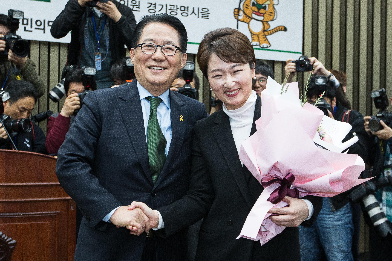박지원이 이언주의 최근 발언들을 지적하며 한