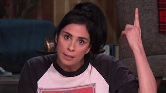 Sarah Silverman called out President Donald Trump's attempts to motivate his base through fear mongering ahead of the November midterms.
