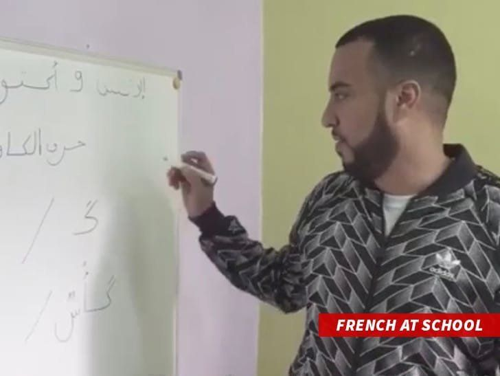 French Montana finance une école maternelle à Mers